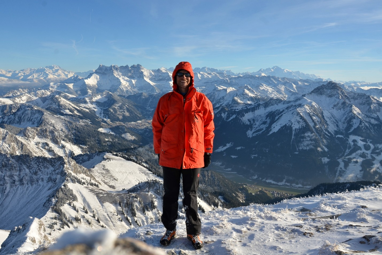 antoineb sommet Cornettes, Dents du Midi, Mont-Blanc