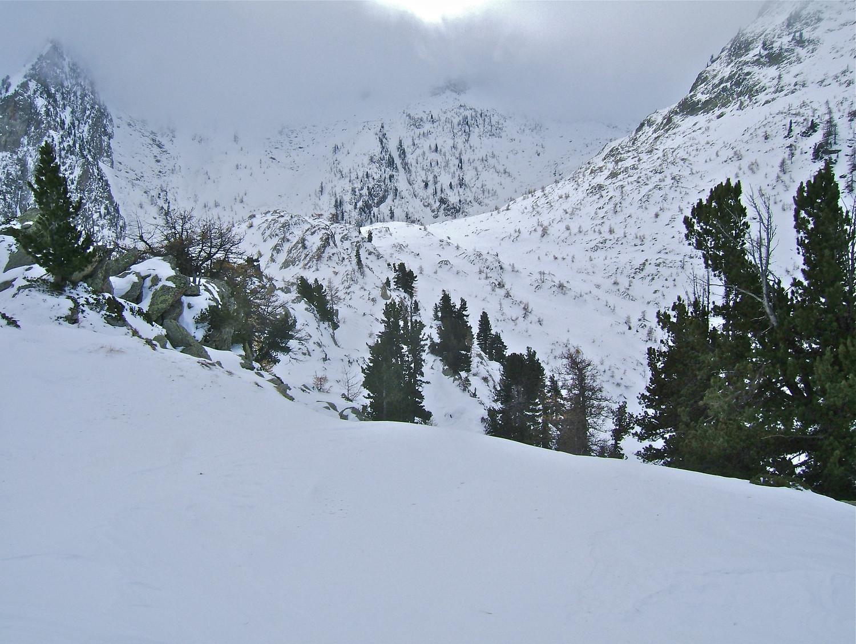 Passo Sommetta vue du sommet.