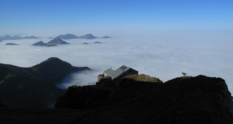 Mer de nuages sur le Chablais