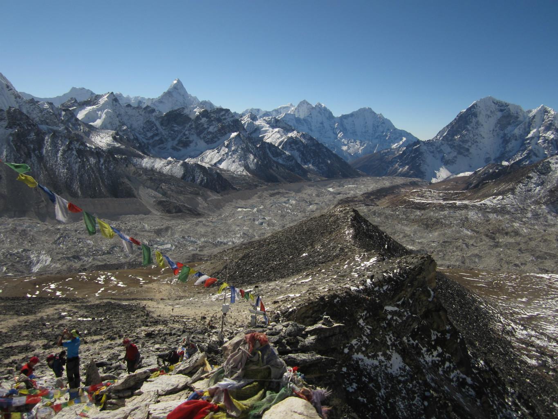 glacier du Khumbu depuis le Kala Pattar
