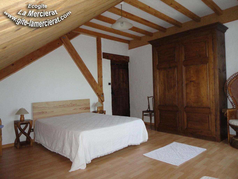 Chambre 1 du gîte La Mercierat