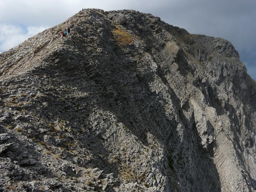 Montagne S de Faraut - Sur les crêtes