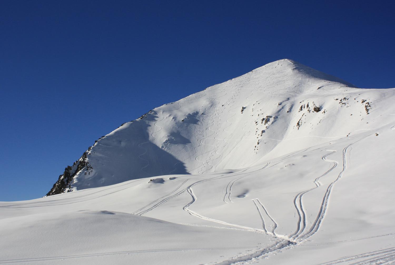 La pyramide sommitale du Pic Blanc du Galibier