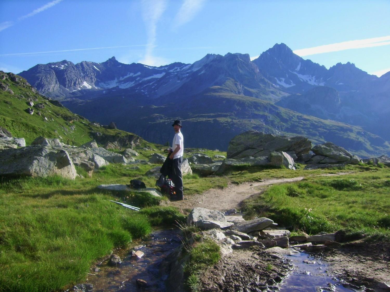 Un replat idyllique vers 2400 mètres
