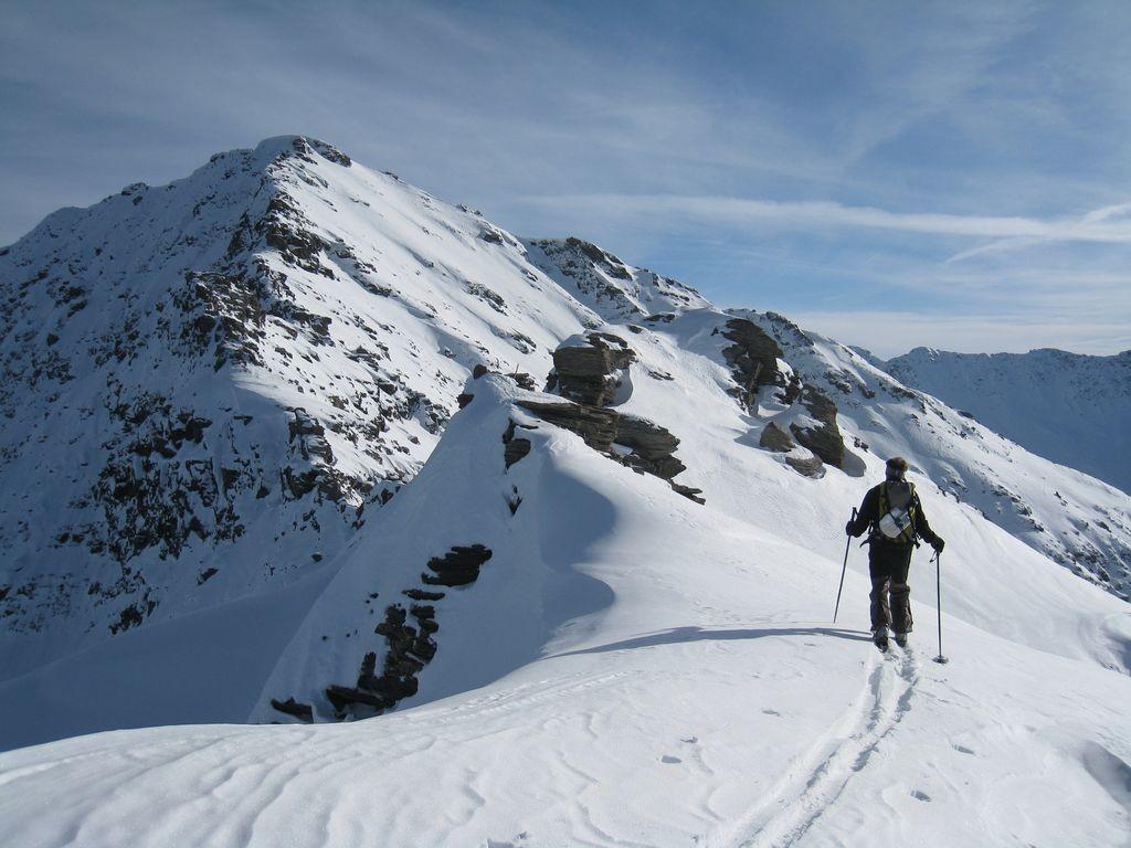 Arrivée au sommet du Monte Gran Roc