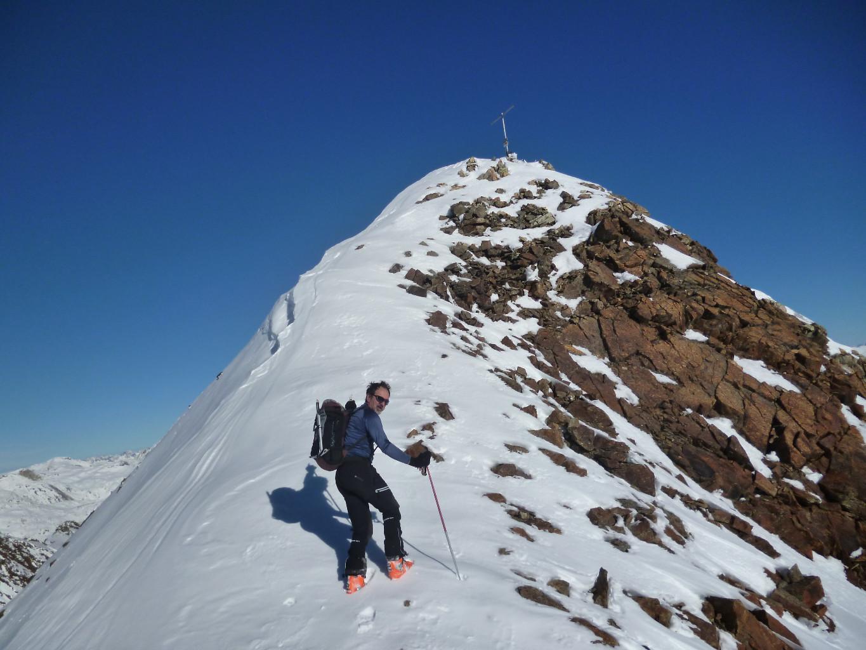 Piz Ursera: ultimi passi per la cima