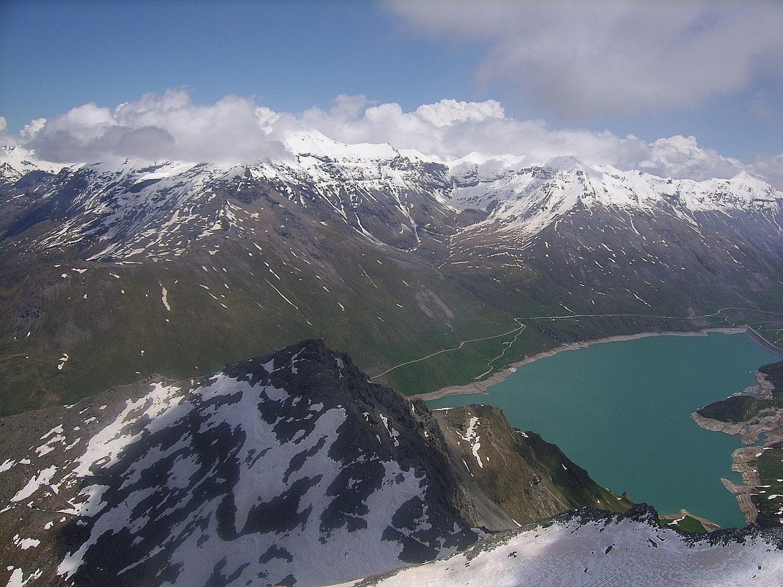 Pointe de Ronce et lac du Mont Cenis