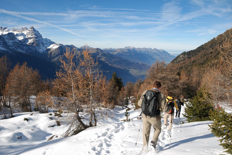 Scex Carro (Bas Valais) : entre le sommet et la cabane