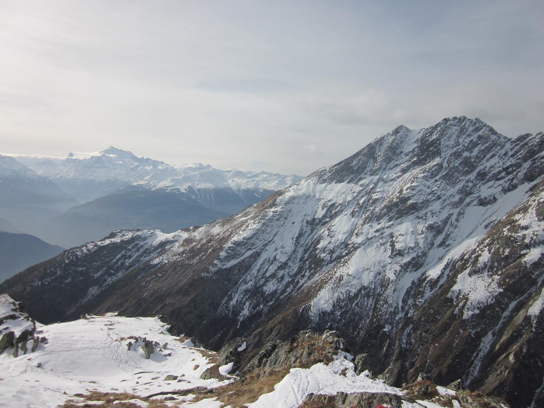 Sommet , vue sur le Gärsthorn