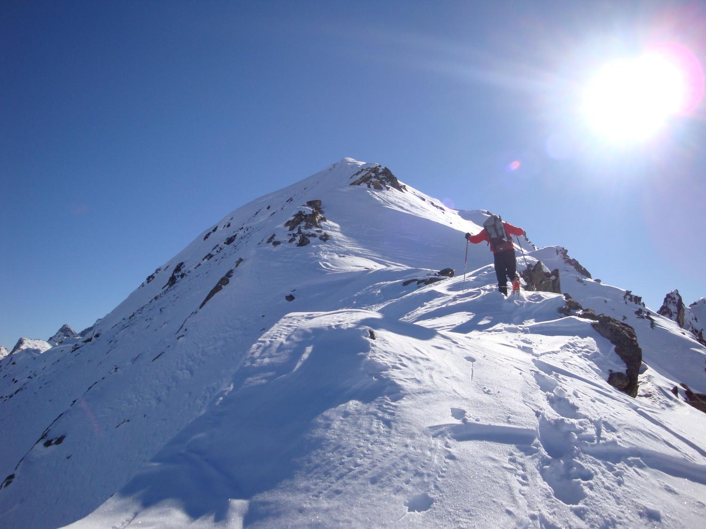 Monte Vago: verso la cima