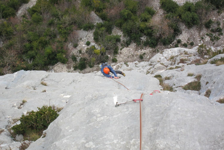L3 technique sur un rocher verdonnesque comme on dit ! :)