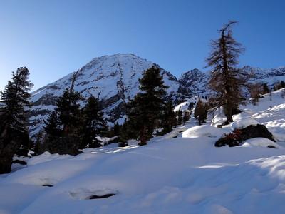 Pointe du Trayo depuis l'alpe de Nomenon