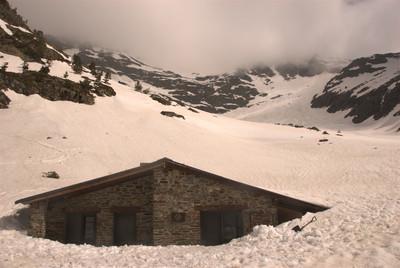 El refugi en condicions hivernals