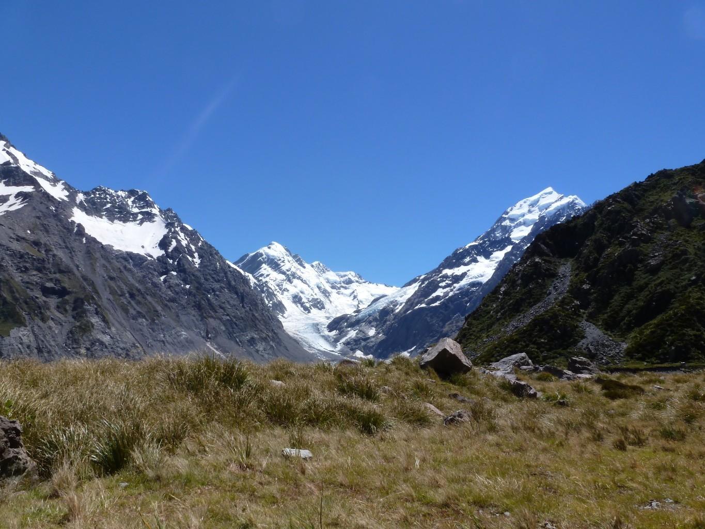 Mont Cook à droite