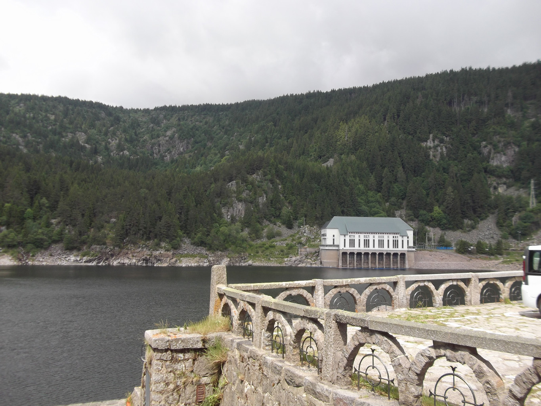 Lac Noir et centrale hydroélectrique