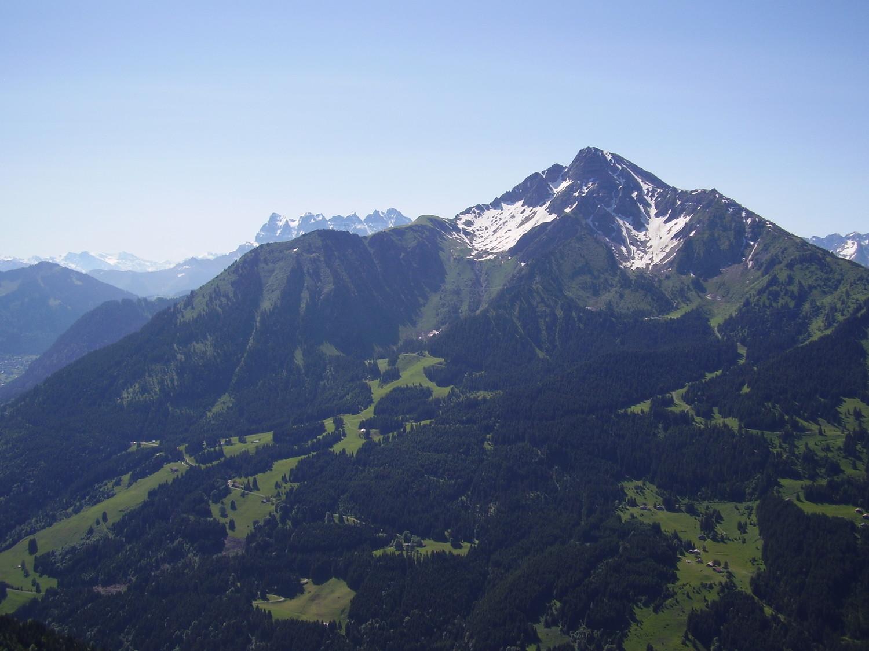 Mont de Grange et Dents du Midi (pour faire plaisir à 006)