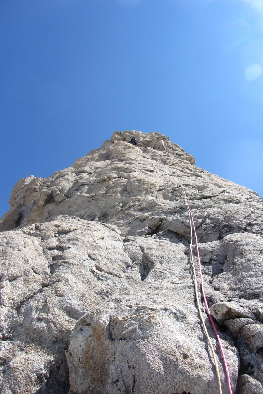 Longueur d'accès au sommet, moins raide qu'elle n'y parait