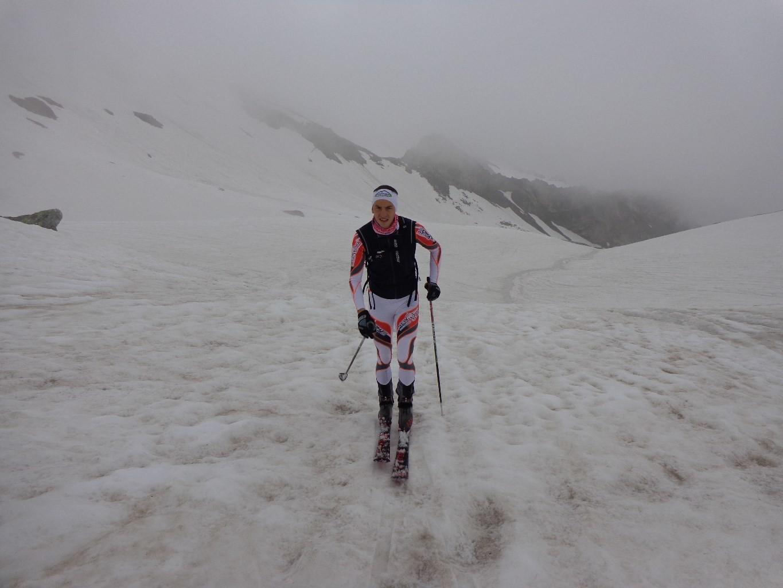 Mt Fourchon, enneigement conséquent pour un 3 juillet