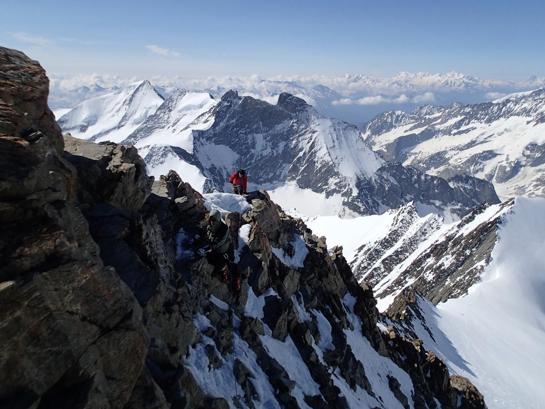 Gross Grünhorn ridge