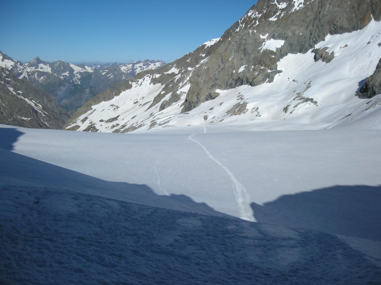 le glacier de selle