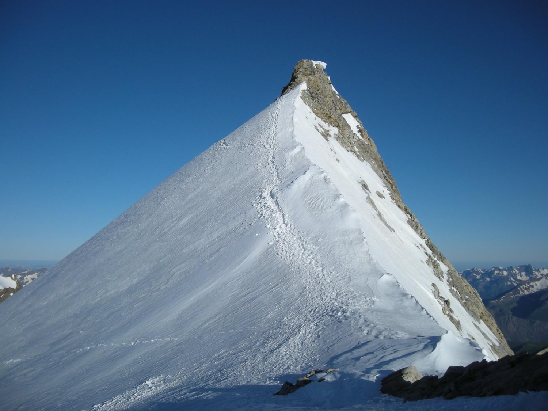dernier effort vers le sommet