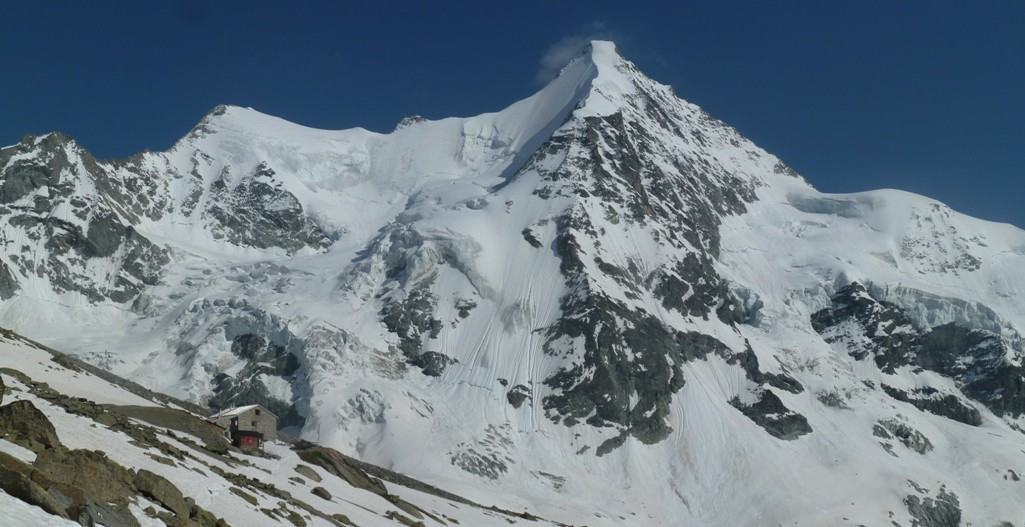 Il versante settentrionale dell'Ober Gabelhorn