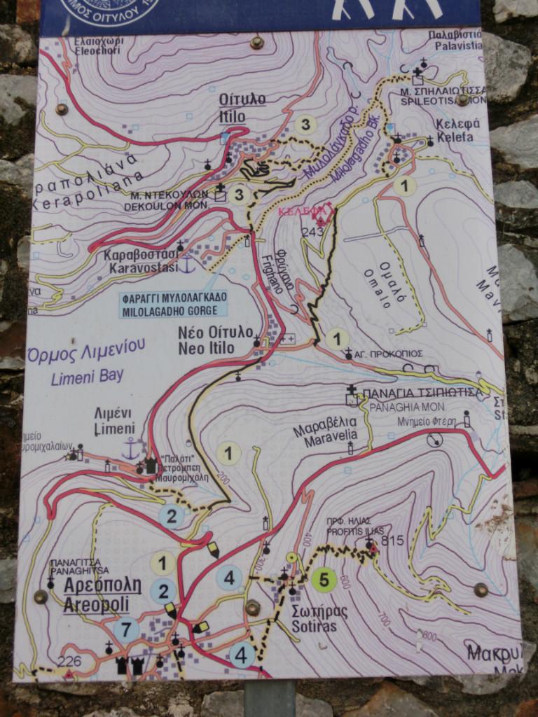 Profitis ilias - celui d'Areopoli, sentier n°5