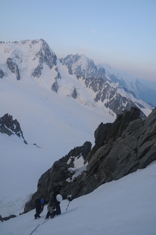 le glacier du tour