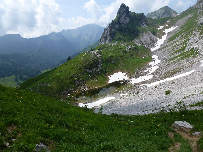 Le petit vallon sous Banc Ferrand
