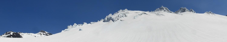 il Sustenhorn e le torri di ghiaccio dello Steingletscher
