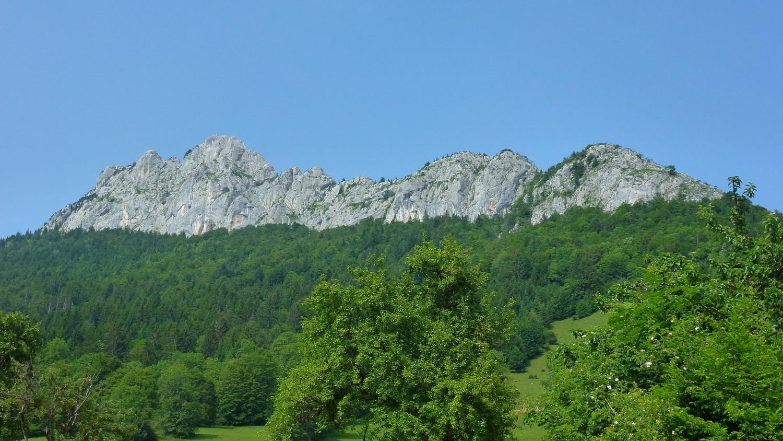 Face Ouest du Roc des Boeufs