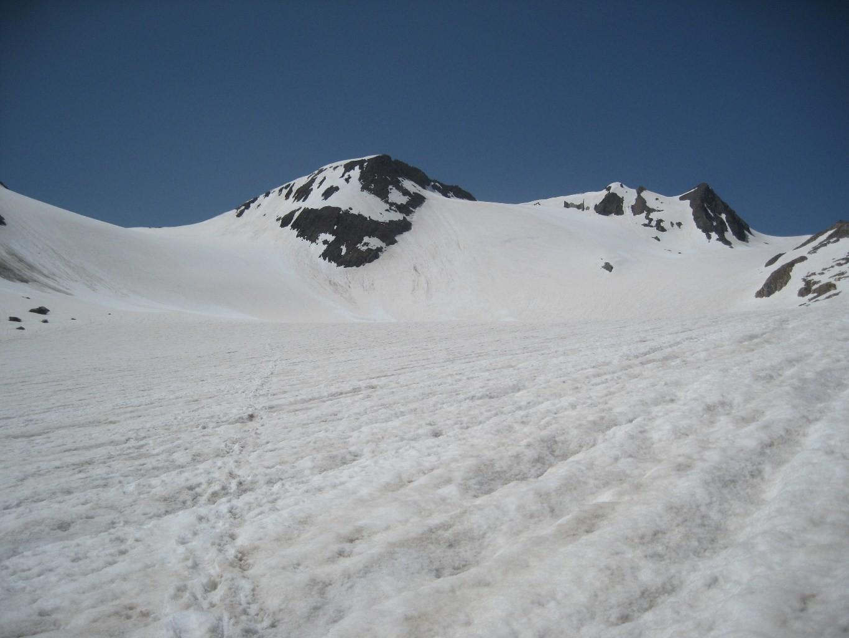 Strahlgrat dal ghiacciaio