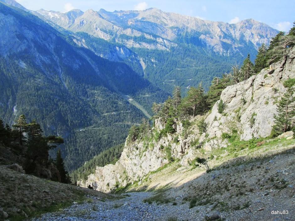 Ravin de la Traverse Côte 2170 m environ