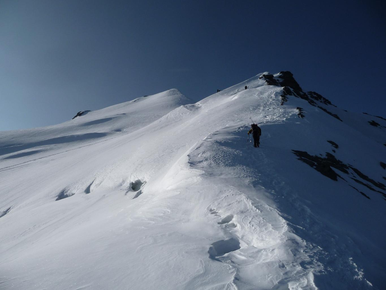le sommet est proche...