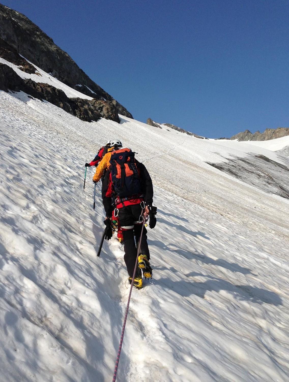 Mont Tondu: la montée