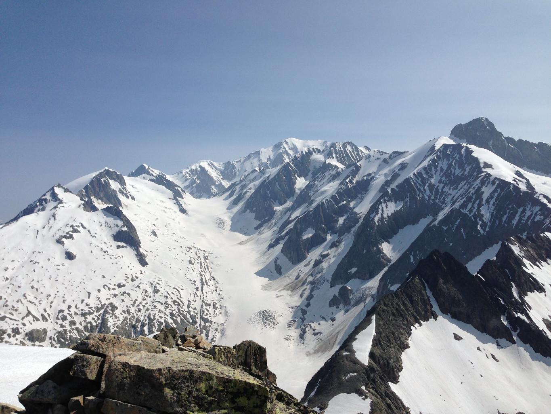 Mont Tondu: La vue sur le Mont Blanc
