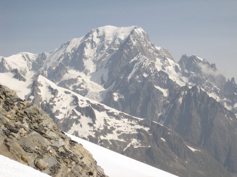 Monte Bianco dalla cima