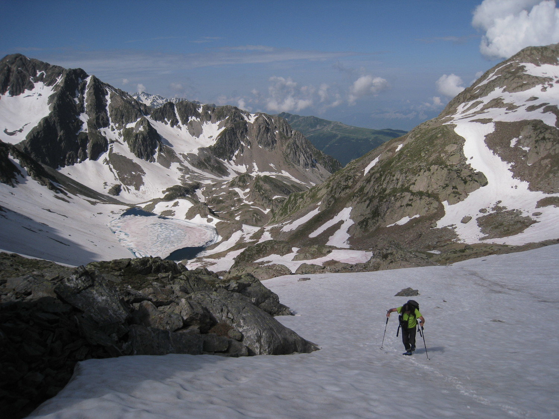 Combe gde Valloire- dernier ressaut vers lac Glacé