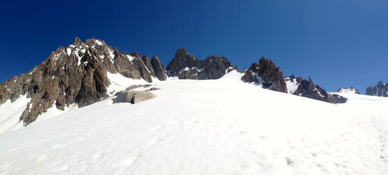 Panoramique Aiguilles du Tour et Purstcheller