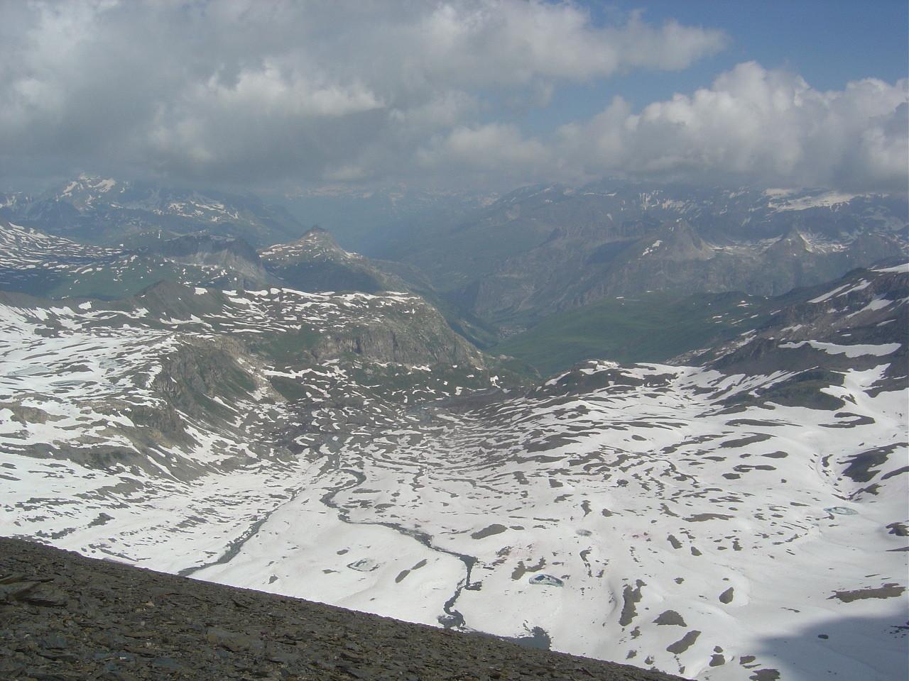 Vallon des Fours et Val d'Isère...