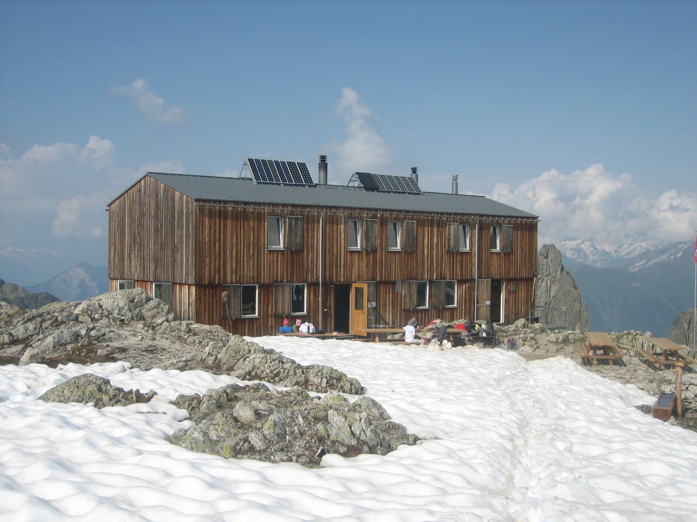 Cabane de la Saleina