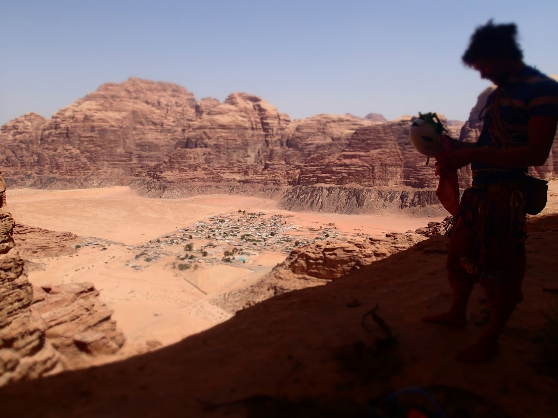 Vue sur Wadi Rum