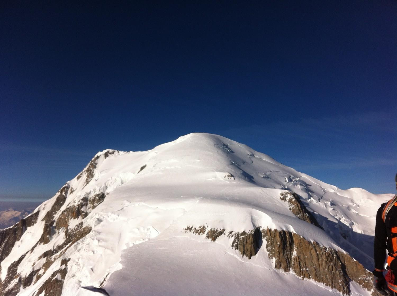 le Mont Blanc n'est pas loin
