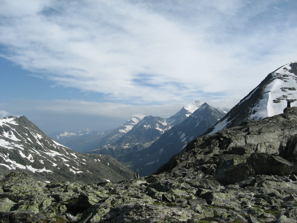 Svizzera dal Col de Crete Seche