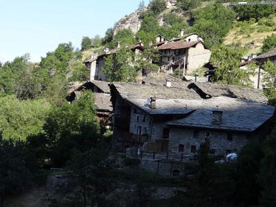 Le hameau de Vedun (Vallée d'Aoste)