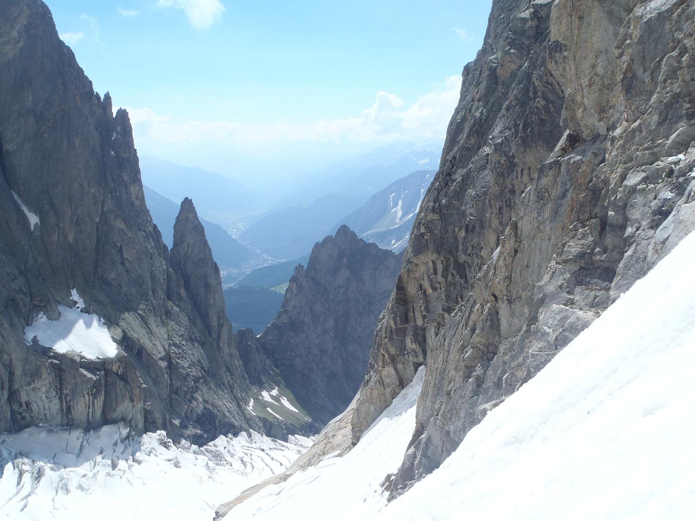vue depuis le glacier de freney