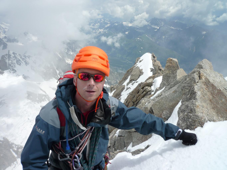 Grand Pilier d'Angle dernier quatre mille - Andrey