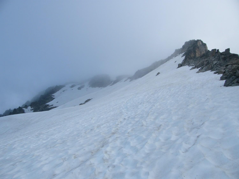 Le sommet dans les nuages