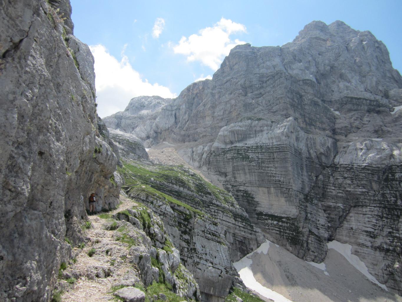 Chemin vers le refuge Dolicù