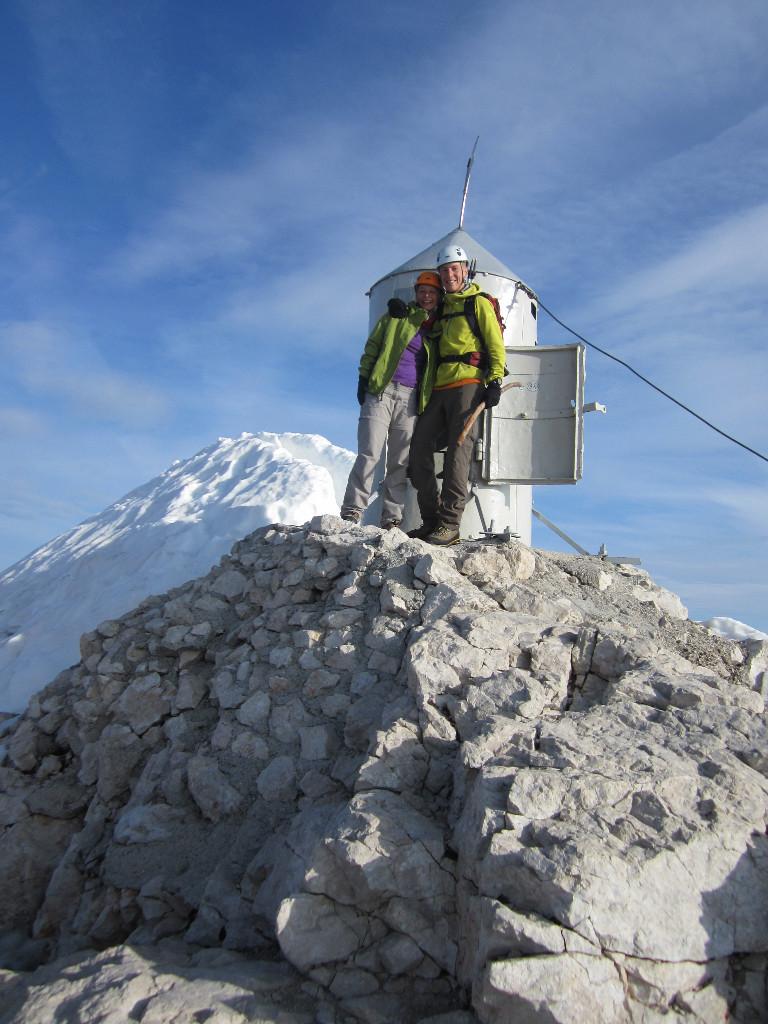 Au sommet du Triglav